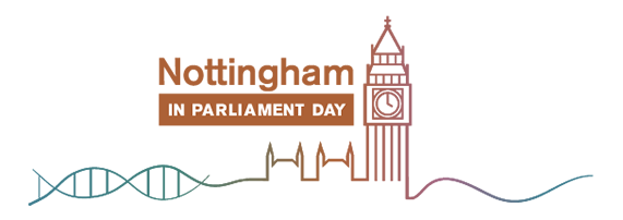 Nottingham in Parliament Day logo
